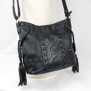 ♡HP♡ Kensie Vegan Leather Tassels Purse